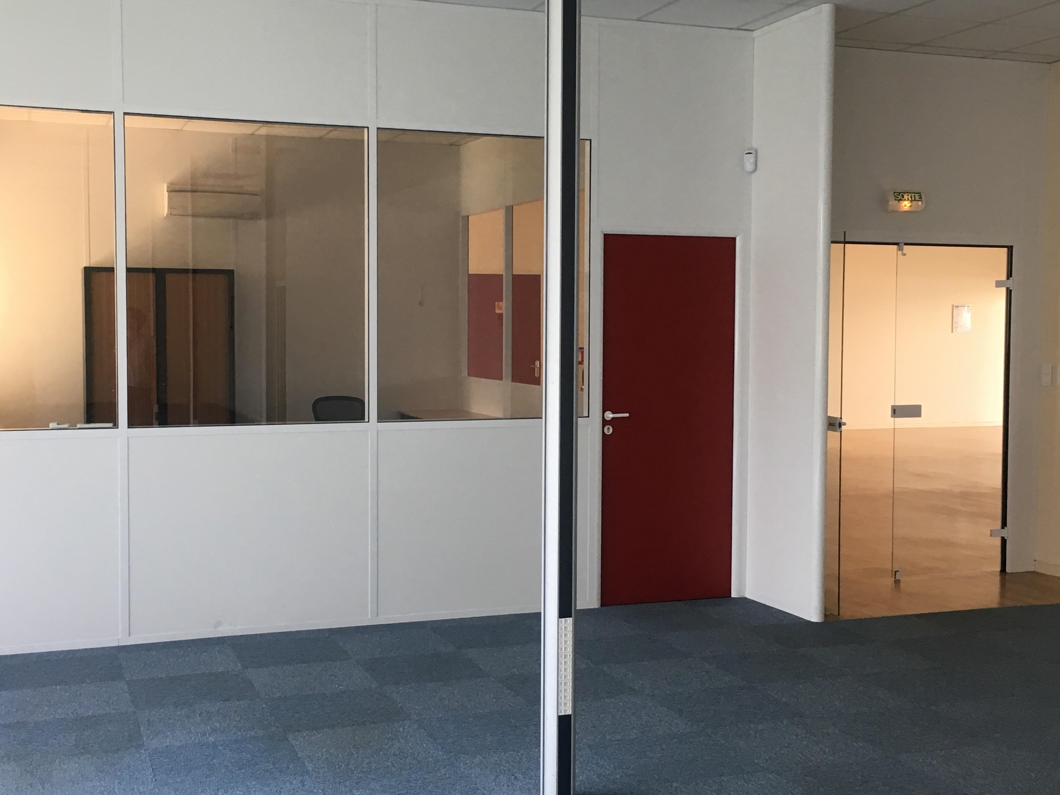 bureaux aménagés